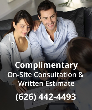 Complimentary On-Site Consultation & Written Estimate