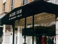 Jacque Storefront Awning