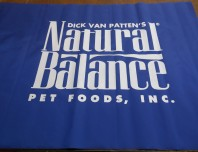 Natural Balance Logo on Canvas