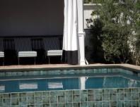 Beverly Hills Curtain on Cabana