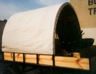 Covered Wagon Canvas Cover